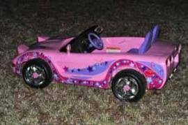 pink corvette power wheels cost to ship power wheels corvette child size seats 2 from