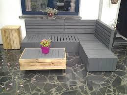 canap fait avec des palettes canapas avec des palettes canapa dangle galerie et salon de jardin