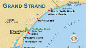 south carolina beaches map atlantic historic enclave in south