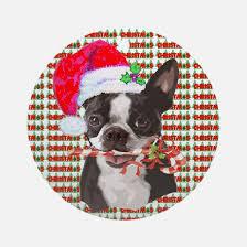 boston terrier ornaments decore