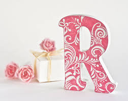 letter gifts letter art wedding letterwooden letters for