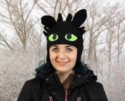 toothless costume polar fleece hat toothless costume hat