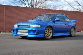 custom blue subaru 1998 subaru impreza for sale toronto ontario