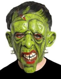 gorilla halloween mask fancy dress scary evil orc horror gorilla latex witch costume