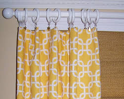 yellow curtains premier fabric collection two drapery panels