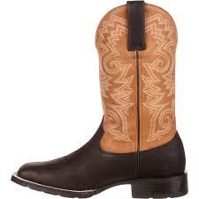 durango mustang men u0027s brown flexible western boot ddb0081