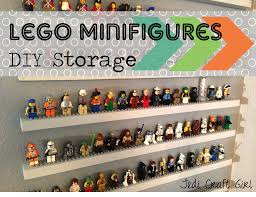 diy lego minifigure storage shelves tutorial