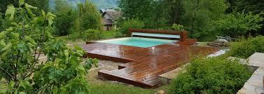 piscine sur pilotis ma terrasse en bois