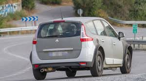 renault grand scenic 2017 renault grand scenic mule spied for the first time