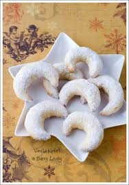 vanilla kipferl are one of the most traditional christmas cookies