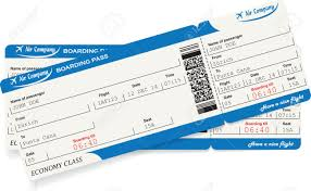 travel tickets images Pattern of two airline boarding pass tickets in blue color travel jpg