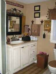 primitive decorated homes country bath decor home decorating ideas