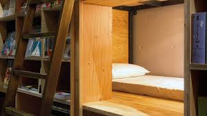 tokyo u0027s best hostel lets you have a sleepover in a book co design