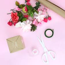 Faux Flowers Faux Flowers Diy Gift Toppers Lines Across
