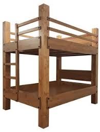 High End Bunk Beds Custom Xl Bunk Bed Rustic Alder Construction