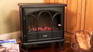 duraflame freestanding electric stove dfs 750blk youtube