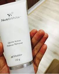 Makeup Remover Shaklee nutriwhite scrub terbaik jerawat kecut
