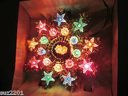 lighted tree topper vintage tree topper collection on ebay