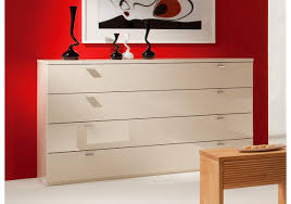 Schlafzimmer Kommode Holz Kommode Creme Ultra Hochglanz Woody 144 00016 Woody Möbel