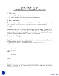 assembly language programming study notes summaries exam