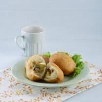 cara membuat donat isi ayam kue donat singkong isi ayam sayur