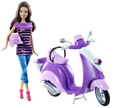 barbie cars with back seats teresa wants to ride along with her friend barbie too