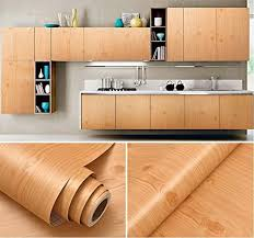 what glue to use on kitchen cabinets faux wood grain contact paper vinyl self adhesive shelf drawer liner for kitchen cabinets shelves table desk dresser furniture arts and crafts decal