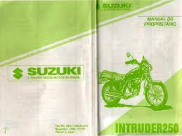 intruder 250 manual do proprietario documents