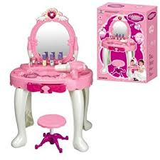 childrens dressing table mirror with lights durable new kids girls dressing table mirror play set glamour beauty