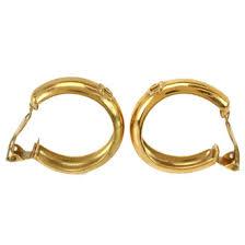 Hoop Earrings With Name Purpose Inc Rakuten Global Market Chanel Chanel Hoop Earrings