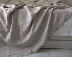 Natural Linen Duvet Cover Queen Organic Duvet Cover Etsy