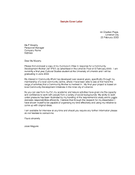 examples of cover letters for resumes 19 letter resume best ideas