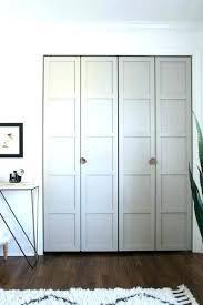 Bifold Closet Door Sizes Bifold Closet Doors Ultimate Guide To Custom Size Bifold Closet