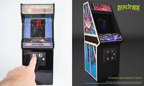 these mini centipede and tempest arcade cabinets are beyond cute