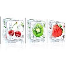 glasbilder küche murando neuheit glasbilder bild deko glass glasbild obst küche