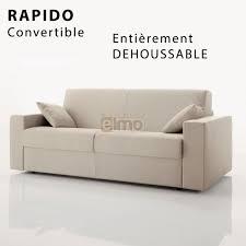 rapido canape lit canapé lit canapé convertible rapido pas chers meubles elmo
