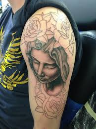 62 best mary and rose tattoos for men images on pinterest rose