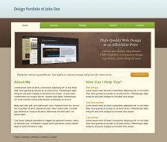 Free Template Html by Clean Portfolio Template Folio Focus