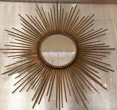 oversized gold sunburst mirror large starburst mirror large