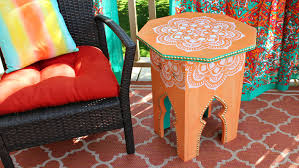 mark montano moroccan side tables diy
