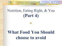 nutrition u0026 you part 1 assignment 23 takes notes ppt download