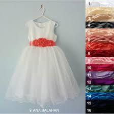 first communion dress white wedding flower dress first