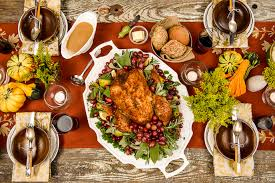 thanksgiving turkey platter we gather together ruby