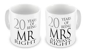 20th wedding anniversary 20th wedding anniversary gifts co uk