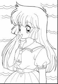astonishing anime girls coloring pages with anime coloring pages