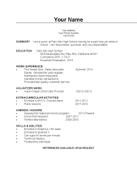 curriculum vitae exle for part time jobs near me college students job hunting tips and resources