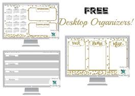 Desk Top Organizers Free Desktop Organizers Some Of This And That