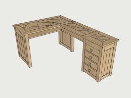 plan bureau d angle table d angle plan bureau dangle par zeloko sur lair du bois angled