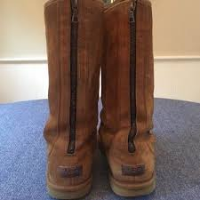 womens ugg knightsbridge boots s back zipper ugg boots on poshmark