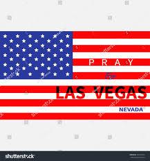 Mass Flag Pray Las Vegas Nevada American Flag Stock Vector 727539724
